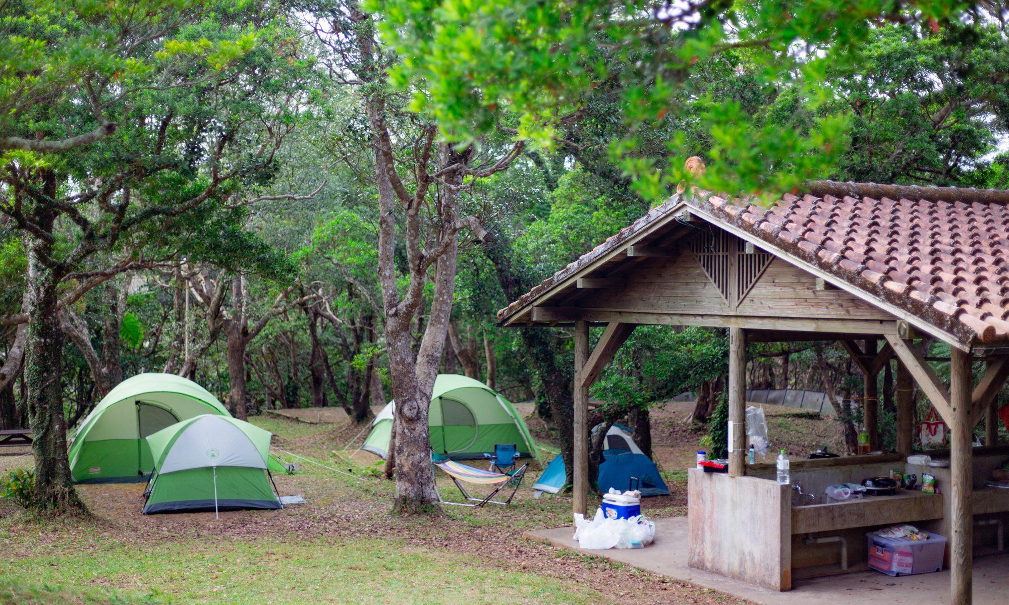 乙羽岳森林公園キャンプ&バンガロー